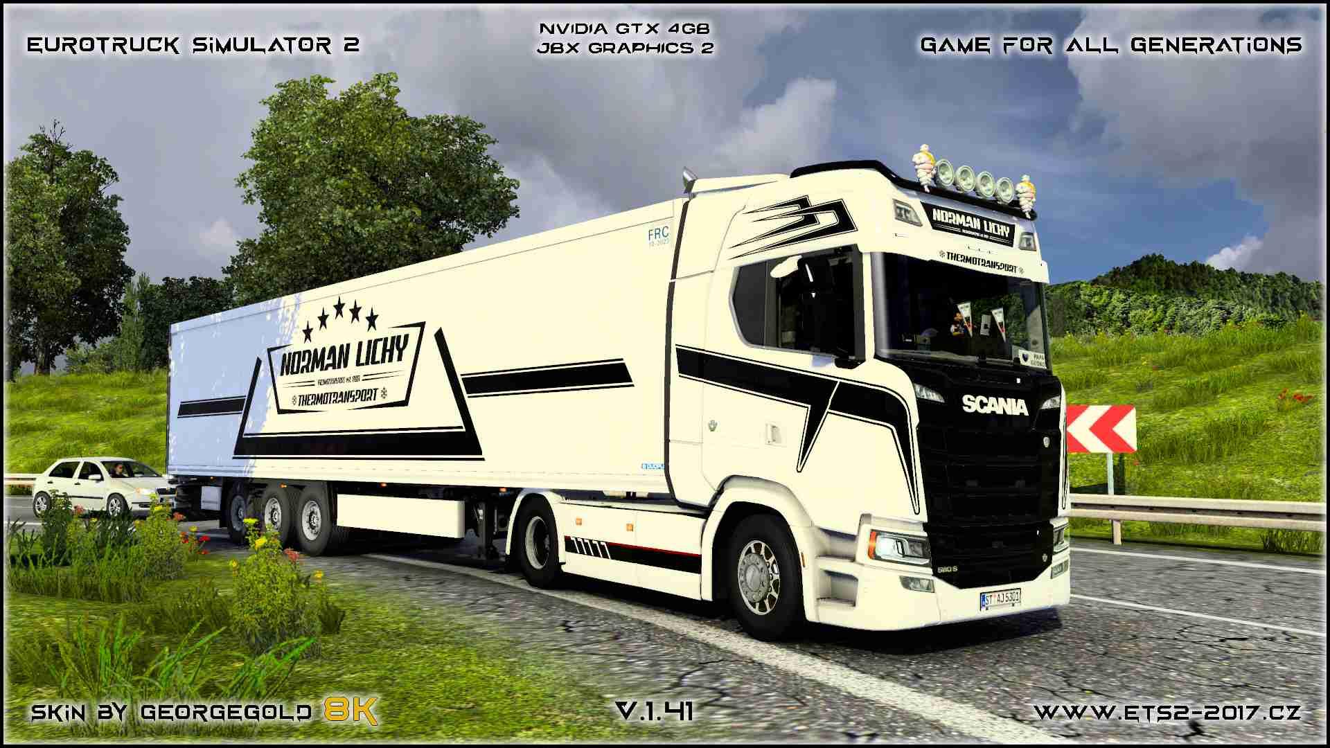 Combo Scania S NG Norman Lichy