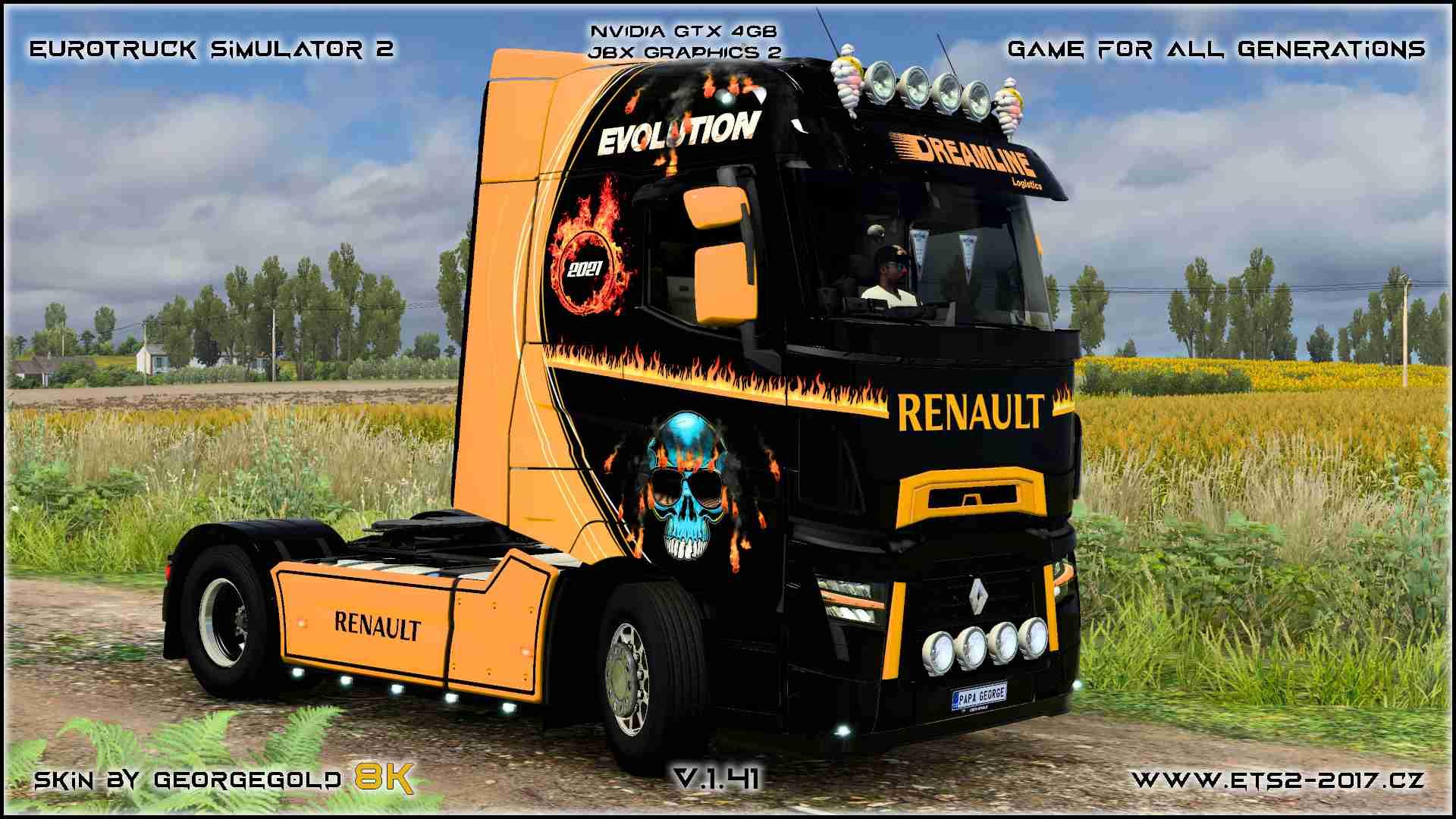 Renault T Dreamline Logistics