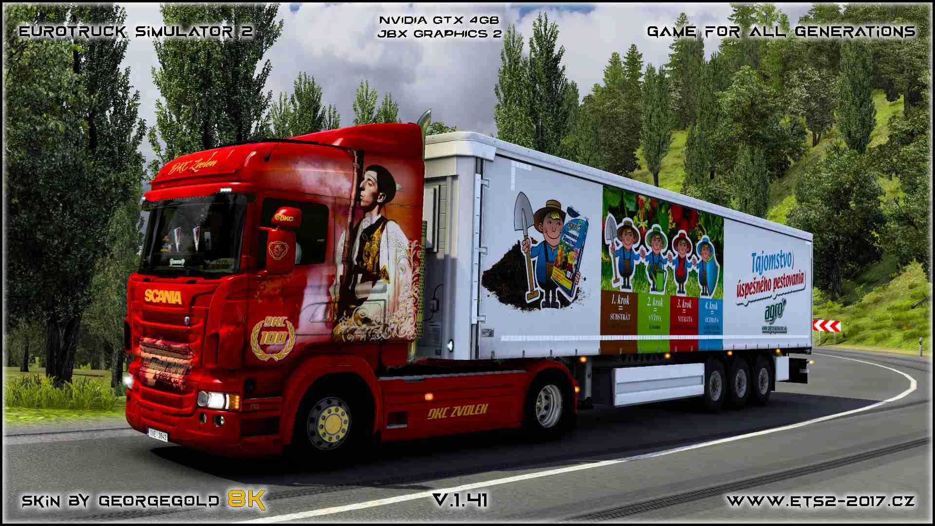 Combo Scania RJL DKC Zvolen 100