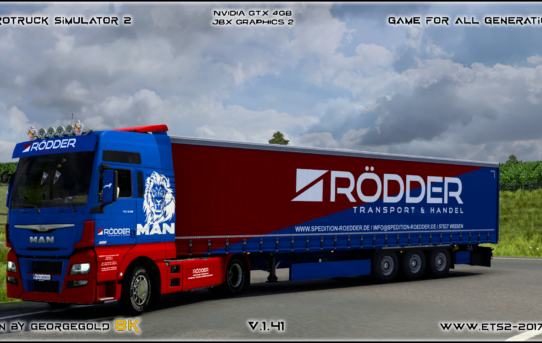 Combo Man TGX E6 SCS Rodder Transport