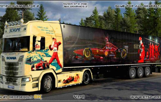Combo Scania S NG Michael Schumacher