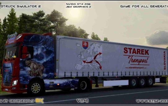 Combo Daf E6 Starek Transport Wild