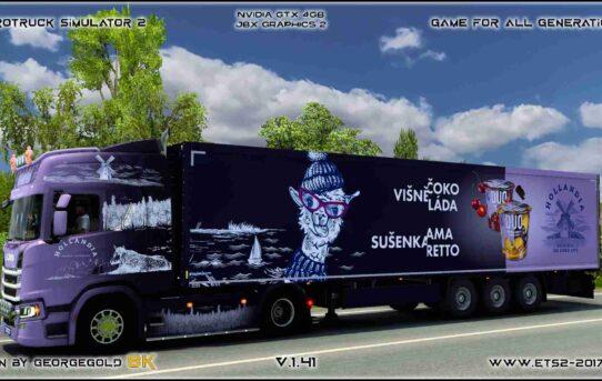 Combo Scania R NG Hollandia Duo