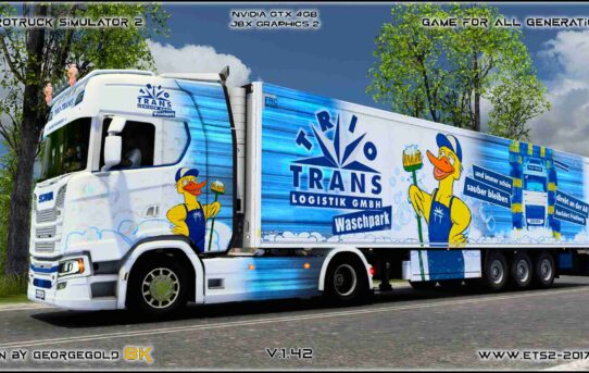 Combo Scania S NG Trio Trans Waschpark