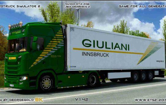 Combo Scania S NG Guiliani