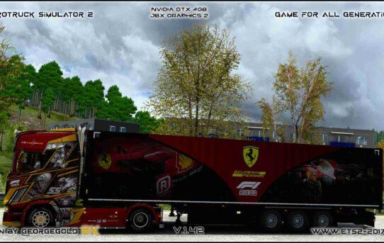 Combo Scania S NG F1 Ferrari 2021